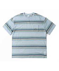 CRT STRIPE POCKET T-SHIRT(SKY BLUE)_CRTZURS07UB0