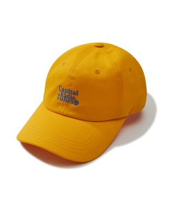 APPLE FULL LOGO BALL CAP(YELLOW)_CRTZUHW05UY0