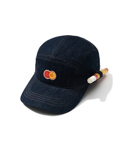 HAPPY FOOD X CRITIC PEN HOLDER CHEF CAMP CAP(DEEP NAVY)_HFTZUHW01UN1