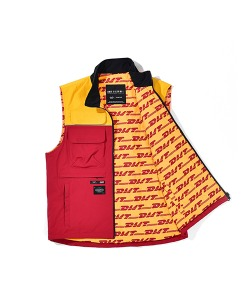 DIMITO X CRITIC PART TIME REVERSIBLE VEST(RED)