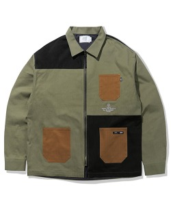 PATCHWORK JACKET(KHAKI)_CTTZAJK04UK0