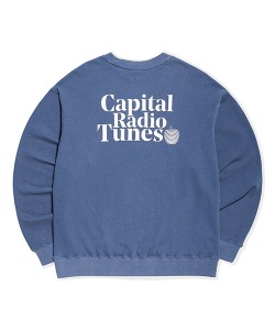 APPLE FULL LOGO SWEATSHIRT(BLUE GREEN)_CRTZICR01UB7