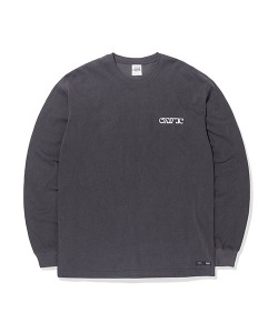 ETHNIC LOGO LONG SLEEVES(BLACK)_CTTOPRL06UC6