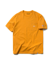 ARCH LOGO POCKET TEE (YELLOW)_CMOEURS33UY2