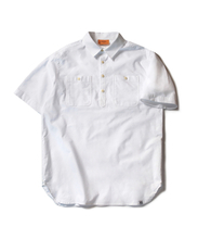 OXFORD PULLOVER SHIRT (WHITE)_CMOEUSS31UC2