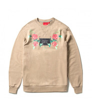 RED BLOSSOM CREWNECK (BEIGE)_CTOIACR07UBG