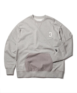 MFG REVERSE C POCKET SWEAT SHIRT(GRAY)_CMOEACR34UC4