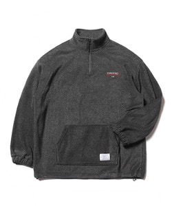 CSW HALF FLEECE ZIP UP JACKET(CHARCOAL)_CTOEICR03UC1