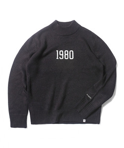MFG 1980 KNIT SWEATER(NAVY)_CMOEIKT31UN0