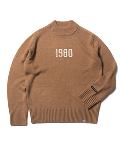 MFG 1980 KNIT SWEATER(CREAM)_CMOEIKT31UE3