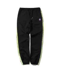 CRT SPORTS TAPED SWEAT PANTS(BLACK)_CTOEAPT02UC6