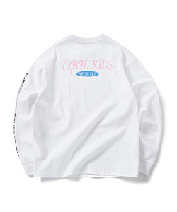 COOL KIDS LONG SLEEVE T-SHIRT(WHITE)_CTOGPRL05UC2