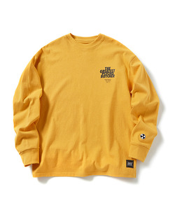PSYCHO BUTCHER LONG SLEEVE T-SHIRT(YELLOW)_CTOGPRL01UY1