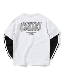 HALF LONG SLEEVE T-SHIRT(WHITE)_CTOGPRL06UC2