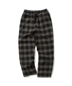TGG CHECK PANTS(BLACK)_CTOGPPT01UC6