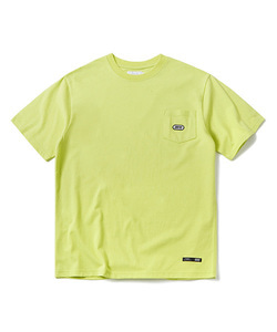 BASIC LOGO POCKET T-SHIRT(NEON YELLOW)_CTOGURS22UY3