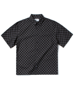 CHECK BOARD SHIRT(CHARCOAL)_CTOGUSS03UC1
