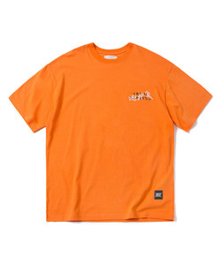 CRITIC EXPRESS T-SHIRT(ORANGE)_CTOGURS17UO0