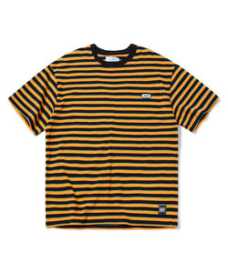 STRIPE T-SHIRT(ORANGE)_CTOGURS11UO0