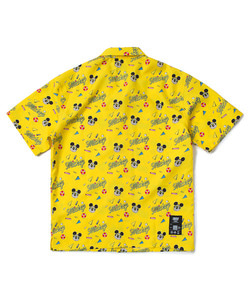 CRITIC X DISNEY Mickey Summer Breeze Shirt(YELLOW)_CSOGUSS11UY0
