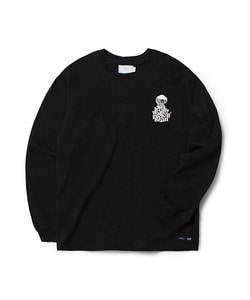WFB LONG SLEEVE T-SHIRT(BLACK)_CTOGARL06UC6