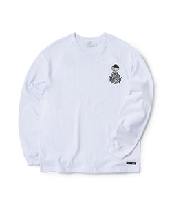 WFB LONG SLEEVE T-SHIRT(WHITE)_CTOGARL06UC2