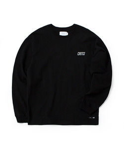 REFLECTIVE C LONG SLEEVE T-SHIRT(BLACK)_CTOGARL05UC6
