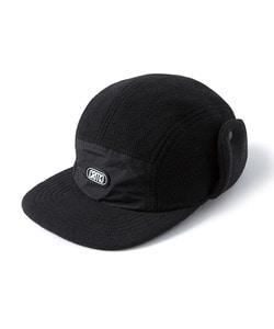 EAR FLAP CAMP CAP(BLACK)_CTOGIHW09UC6