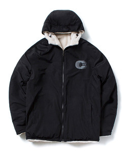 REVERSIBLE FLEECE JACKET(WHITE)_CTOGIJK07UC2
