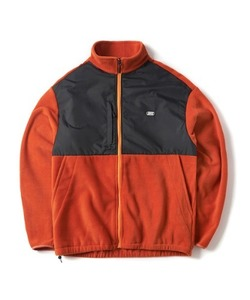 [2/7 예약 배송] FLEECE ZIP-UP JACKET(ORANGE)_CTONPJK02UO0