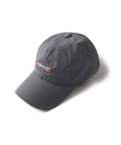 OVAL LOGO BALL CAP(CHARCOAL)_CTONPHW03UC1