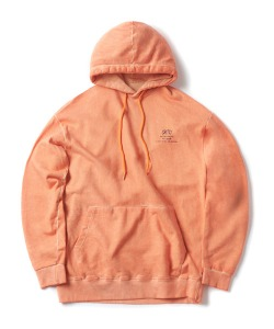 [2/15 예약 배송] BACKSIDE LOGO HOODIE(ORANGE)_CTONPHD06UO0