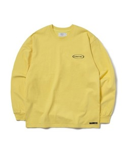[1/25 예약 배송] OVAL LOGO LONG SLEEVE T-SHIRT(LEMON YELLOW)_CTONPRL01UY1