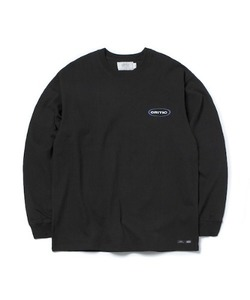[1/25 예약 배송] OVAL LOGO LONG SLEEVE T-SHIRT(BLACK)_CTONPRL01UC6
