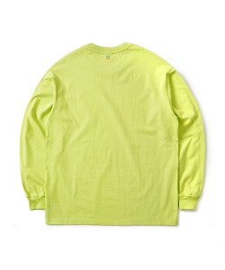 MILLET X CRITIC LONG SLEEVE T-SHIRT(NEON GREEN)_CSONPRL01UNG