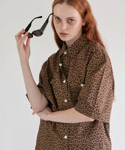 CRT LEOPARD SHIRT(BROWN)_CRONUSS01UE2
