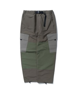 COLOR BLOCK CARGO PANTS(KHAKI)_CTONAPT02UK0