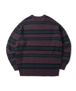 CRT STRIPE KNIT(VIOLET)_CRONINT05UV1
