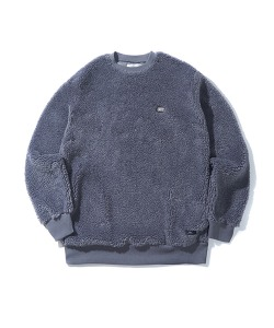 FUR SWEATSHIRT(COOL GRAY)_CTONICR04UC3