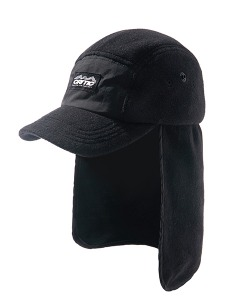 FLEECE FISHING CAP(BLACK)_CTONIHW03UC6