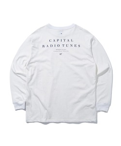 CRT LONG SLEEVE T-SHIRT(WHITE)_CRONARL01UC2
