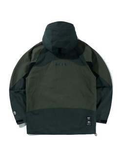 3 TONE HOODED PARKA(FOREST GREEN)_CTTZPJK02UG1
