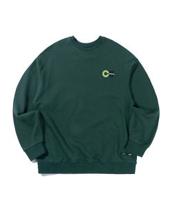 PSYCO BUTCHER CITY BIKE SWEATSHIRT(FOREST GREEN)_CTTZPCR01UG1