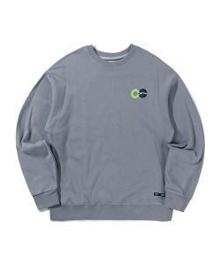 PSYCO BUTCHER CITY BIKE SWEATSHIRT(BLUE GRAY)_CTTZPCR01UB8