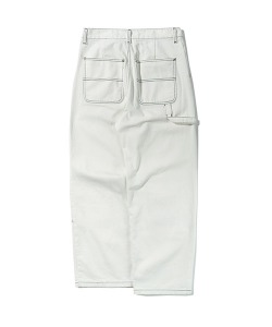 TWILL WORK PANTS(WHITE)_CTTZPPT05UC2