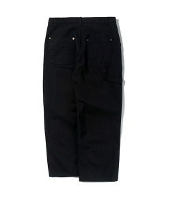 TWILL WORK PANTS(BLACK)_CTTZPPT05UC6