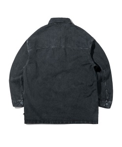 PIGMENT DENIM JACKET(BLACK)_CTTZPJK05UC6