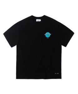 EARTH LOGO T-SHIRT(BLACK)_CTTZURS09UC6