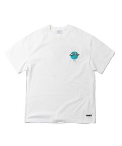 EARTH LOGO T-SHIRT(WHITE)_CTTZURS09UC2