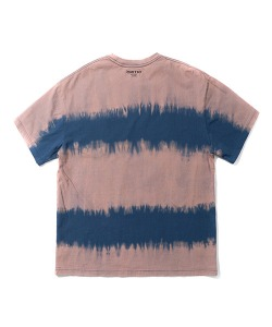 TIE-DYE POCKET T-SHIRT(BLUE GREEN)_CTTZURS05UB7